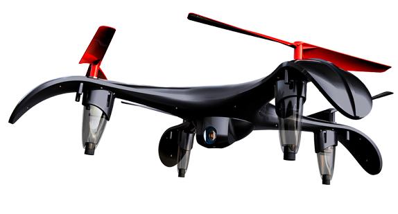 parrot drone video