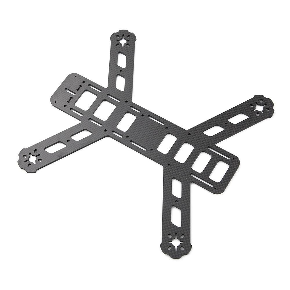 plaque chassis carbone avec bras supports moteurs. Black Bedroom Furniture Sets. Home Design Ideas