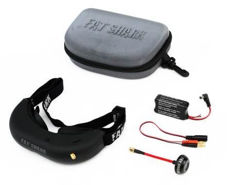 emballage fort prix le plus bas nouveau pas cher Système FPV Fatshark Attitude V2 (lunettes seules)