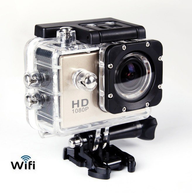 Action Camera Mini Sports DV WIFI Full HD 1080P Etanche DV