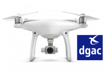 Phantom 4 Homogue DGAC S1 & S3 - BDL-PH4S1S3DGAC