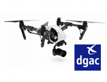 Inspire 1 Pro homologue DGAC S1/S2/S3 - BDL-INSPPROS1S2S3