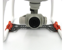 Phantom 4 Gimbal Camera Protector 3K Carbon Fiber Board
