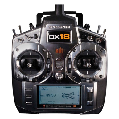 Spektrum DX18 + AR9020 Mode 1