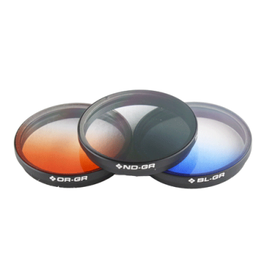 Pack 3 Graduated Filter INSPIRE 1 /  OSMO Polar Pro