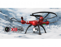 Drone Quadricoptere SYMA X8HG 2.4G Camera 8MP (Rouge)   4 canaux avec gyro