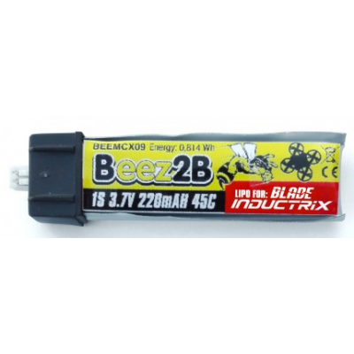 Lipo 1S 220mAh 45C (inductrix, ..)