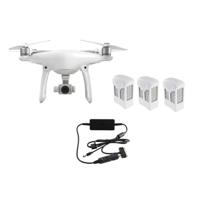 PACK PRO PHANTOM 4 + 2 batteries supplementaires + DGAC S1S2S3 - DGAC-PH4-2BATT-AUTO