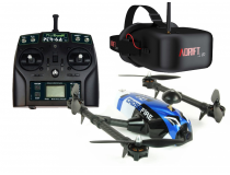 Drone Racer 250 Crossfire FPV  (Drone - Radio - Chargeur - Masque FPV) - ARES