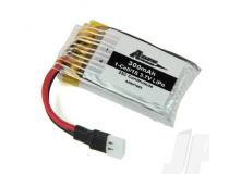 300mAh 1-Cell 3.7V 25C LiPo battery (Spidex 3D)