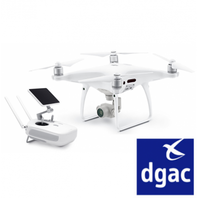 DJI PHANTOM 4 PRO PLUS HOMOLOGUE DGAC S1S2S3 - BDL-PH4PROPLUS-DGAC