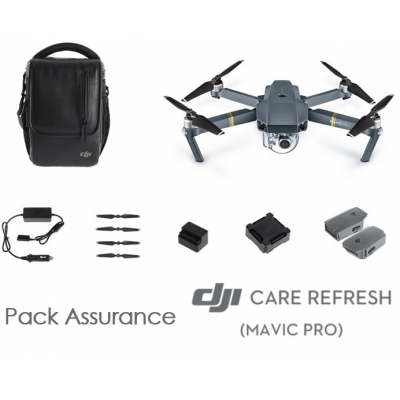 Pack Mavic Pro combo Fly More + Assurance DJI Care