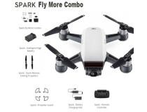 Drone DJI SPARK Blanc Fly More Combo