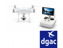 DJI PHANTOM 4 Advanced + HOMOLOGUE DGAC S1S2S3 - BDL-PH4ADVPLUSDGAC