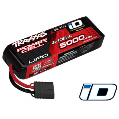 lipo 3s 11 1v 5000mah 20c id traxxas trx2831x droneshop. Black Bedroom Furniture Sets. Home Design Ideas