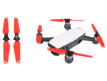 2 paires d helices rouges Spark DJI