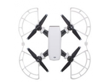 Protections d helices avec patins atterrissage blancs DJI Spark