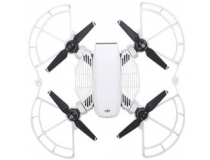 Protections helices et doigts avec patins atterrissage blancs DJI Spark