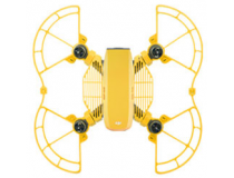 Protections helices et doigts avec patins atterrissage jaunes DJI Spark