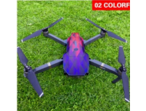Stickers Waterproof Batterie - Radio -  DJI MAVIC PRO Colorful Rhombus