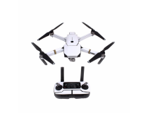 Stickers Carbone  Drone / Radio / Batterie  pour MAVIC PRO Blanc