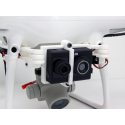 Kit montage FLIR DUO pour DJI PHANTOM 4 PRO - DS-KITFLIRDUO-PH4P