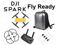 DJI SPARK JAUNE FLY READY PACK - BDL-SPARK-GREEN-REMOTE-SAC