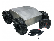 Robots Superdroid 4WD Plate-forme robotisee fermee tout-terrain IG52-DB4-E - IG52-DB4-E