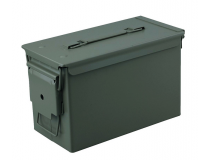 Caisse munition Metal cal.50 OLIVE 33x18x23cm