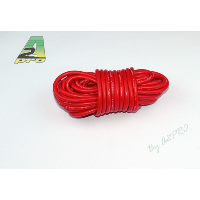 Fil silicone AWG12 - 3,58mm² rouge A2PRO