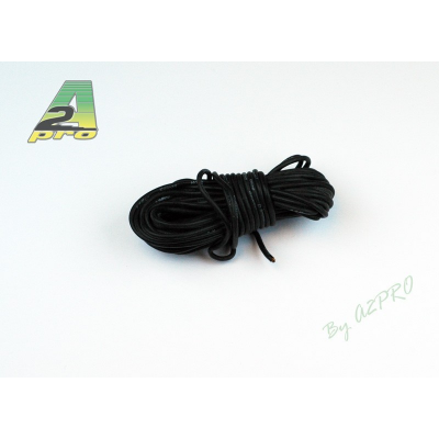 Fil silicone AWG20 - 0,5mm² noir A2PRO