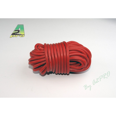 Fil silicone AWG14 - 2,12mm² rouge A2PRO