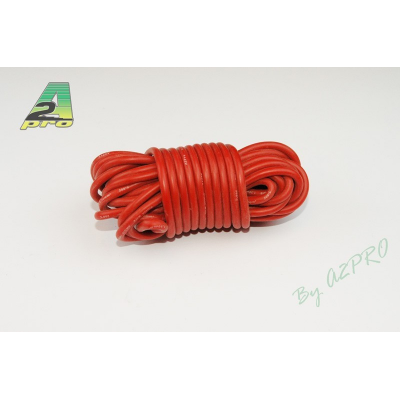 Fil silicone AWG16 - 1,32mm² rouge A2PRO
