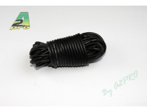 Fil silicone AWG18 - 0,81mm² noir A2PRO