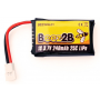 Lipo 1s 3.7V 240mAh 25C Walkera genius/mini cp