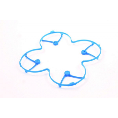 H107-A21 - Hubsan Camera X4C (H107C)  Protection Helices BLEU