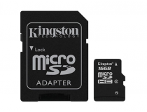 MicroSDHC 16GB Kingston CL4