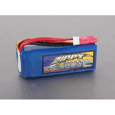 LiPo 2200mAh 3S1P 45C ZIPPY Flightmax