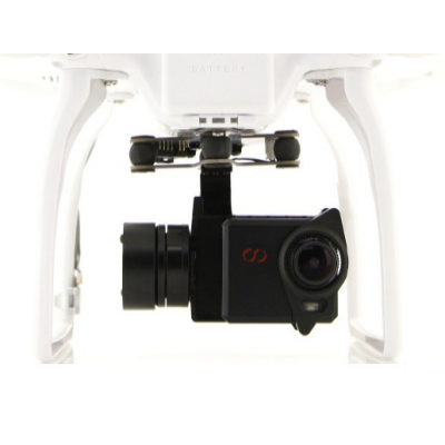 Nacelle 2D Cam One Gravity Air Brushless GoPro - Camone Infinity pour DJI-Phantom - DJB131