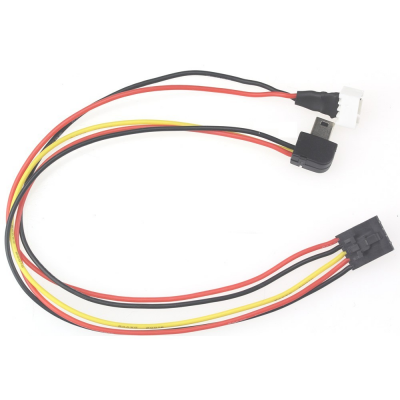Cable compatible DJI Phantom 2 prise TS832 vers Gopro AV/Power - CAB4
