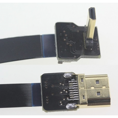 FPV Super Soft Shielding HDMI to Micro HDMI Cable for Gopro Hero 3/3+ - CAB6