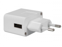 Chargeur COmpact USB 5V - 1A - Blanc