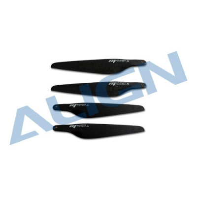 MD0750A Helices 7.5  carbone noir - Align