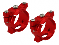 Support de tube carbone alu rouge Pod 250 - Rakon Heli - 200QX613-S