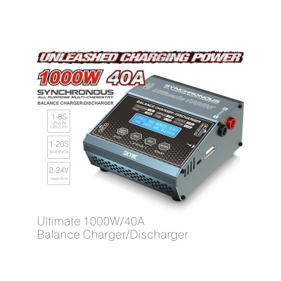 Chargeur SkyRC Synchronous Ultimate 1000W DC