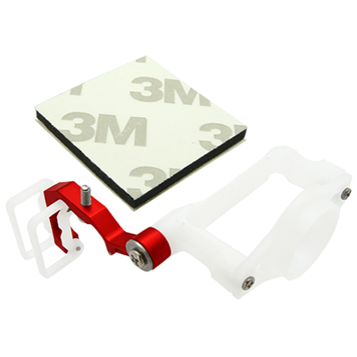 Support rouge Micro Camera FPV - 200QX384-R