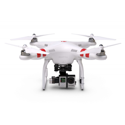 Pack loisir Phantom 2 Zenmuse H4-3D + Gopro Hero 4 + Retour video  - BDL-PHANTOM-LOISIRFULL