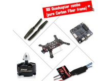 300 Quadcopter combo Carbon - Emax