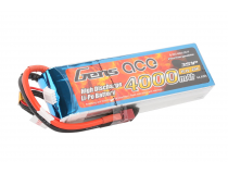 Gens Ace 4000mAh 11.1V 25C 3S1P Lipo Battery Pack