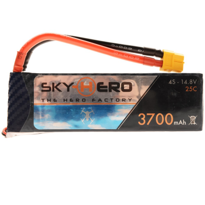 Battery Special Little Spyder 4S - 14.8V - 3700mAh manufactured by Gens Ace - SKH08-010